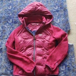 Pink Michael Kors down filled jacket